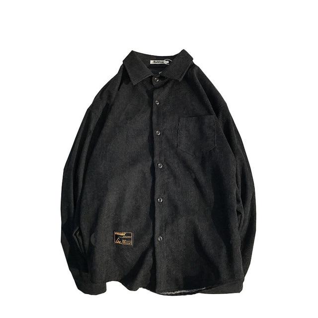 Corduroy Material shirt men 3