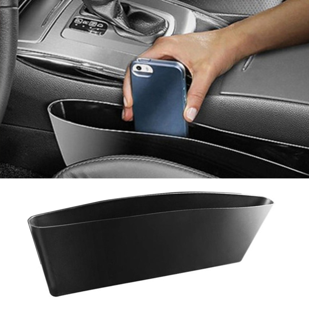 Brown E-CHENG Car Seat Gap Filler Multi-Functional Car Gap Organizer,Car Seat Storage Organize with 2 USB Chargers and For Cellphones,Keys,Cards,Wallets