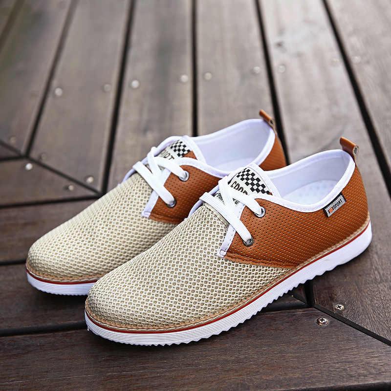 1e5b22eaab7ec Zplover Men Shoes 2017 New Men Fashion Shoes Summer Zapatillas Hombre  Casual Breathable Mesh Shoes Comfortable