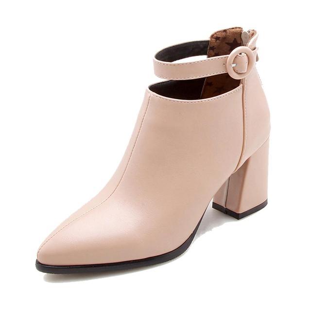 Zapatos Mujer 2018 Botas Tobillo Casual Otoño Moda Invierno qP4U4SCwI