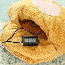 Большие ноги теплые тапочки мультфильм USB обогреватель для ног обувь компьютер PC Электрический тепло тапочки популярный кофе хаки розовый