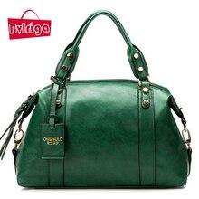 BVLRIGA Frauen messenger bags handtaschen frauen berühmte marken hohe qualität Boston leder frauen tasche schultertaschen totes große bolsos