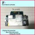 Trabajo para sony xperia z3 d6603 d6653 lte abierto original single-sim motherboard placa lógica con chips envío libre