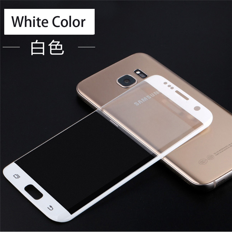 3D מעוקל כיסוי מלא 2.5 D 9H מזג זכוכית סרט מגן מסך הטלפון המקרים עבור Samsung Galaxy S6edge זכוכית S6edge פלוס