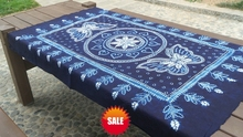 Bandhani Tie dye Unique Original Design Decorations Arts double butterfly / Handmade Table Cloth Many Uses Wholesale