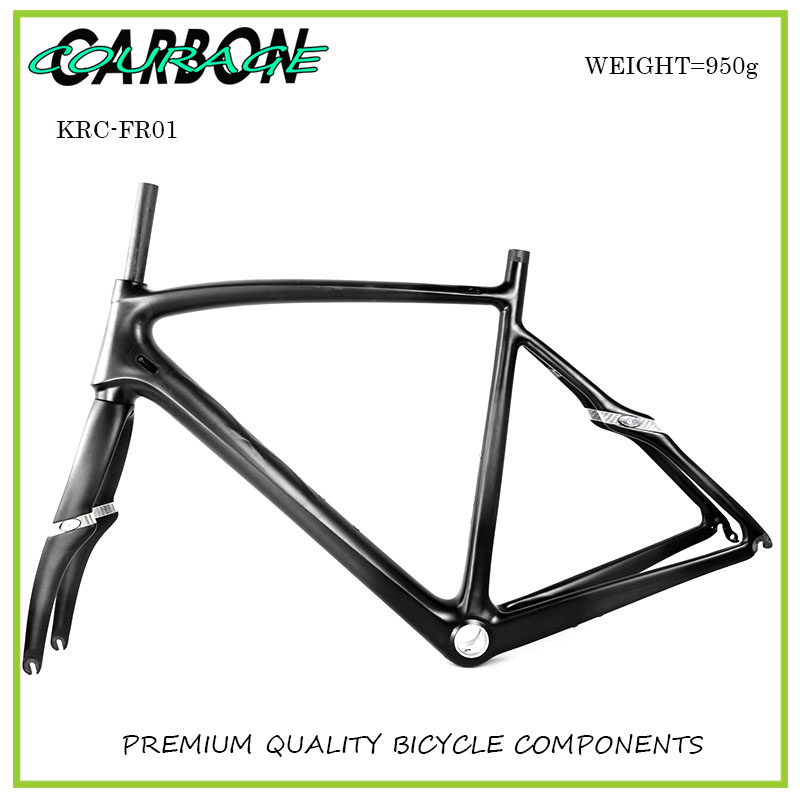2017 new product aero carbon road bike frame Disc brake for road bike track frame fixed gear frame bsa carbon 1 1 2to 1 1 8 bike frameset with fork seatpost road carbon frames fixed gear frameset