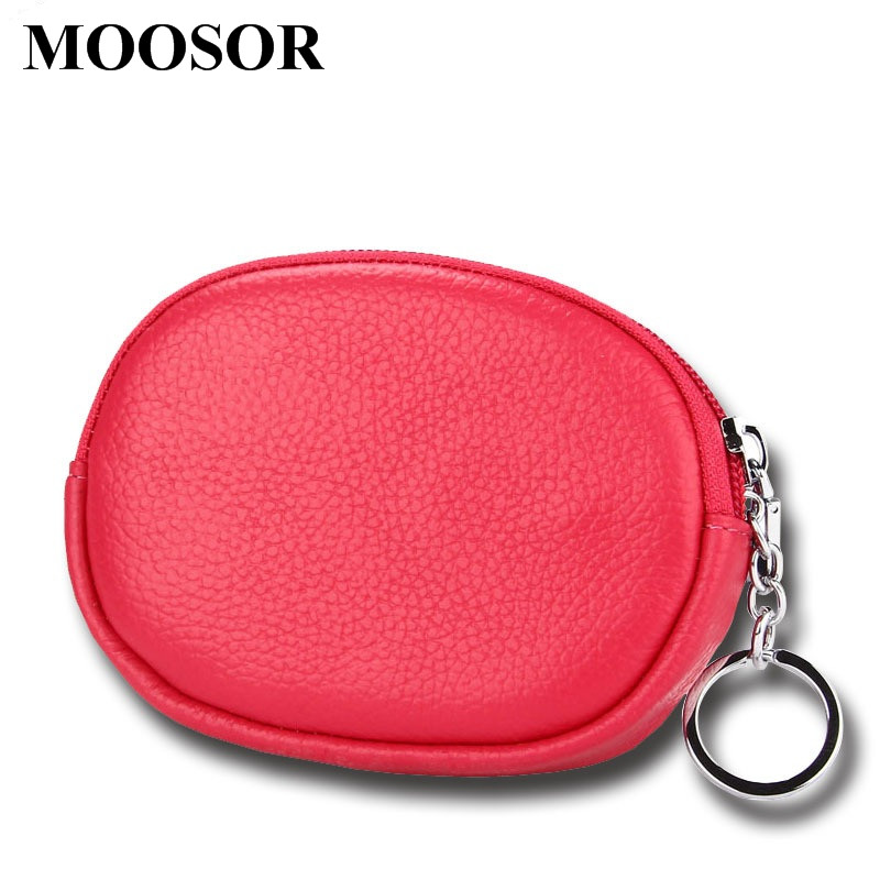 New Women Wallet Genuine Leather Coin Purse Travel Organizer 11 Colors Women Storage Bag Key Holder Day Clutch Card Holders HB50