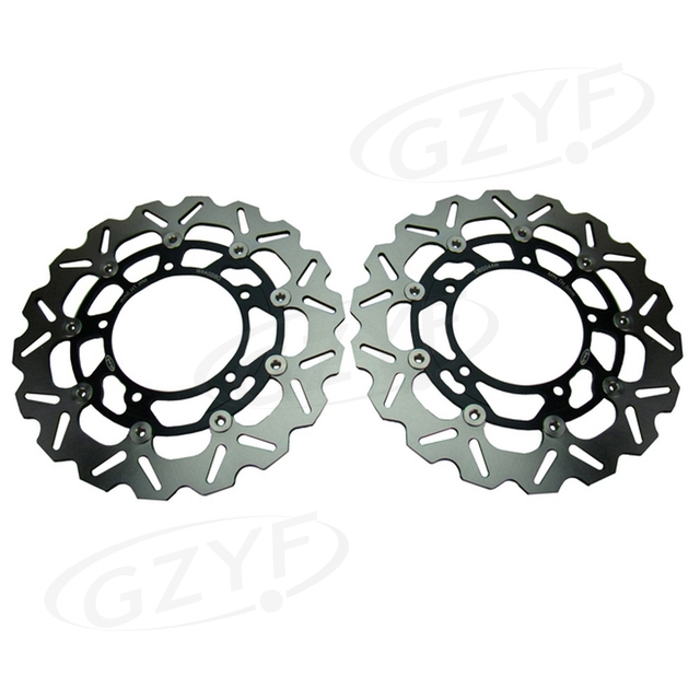 Front Brake Disc Rotors For Suzuki Hayabusa 2008 2009 2010 2011 2012