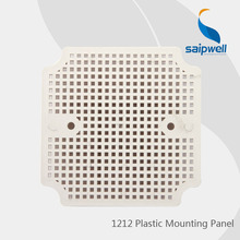 High Quality  Plastic  Square Mounting Panel for Saip Waterproof Box 1212 (99*99*1.6mm)
