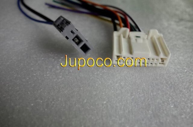 FREE SHIPPING CAR STEREO CD/PLAYER WIRING HARNESS ADAPTER PLUG with