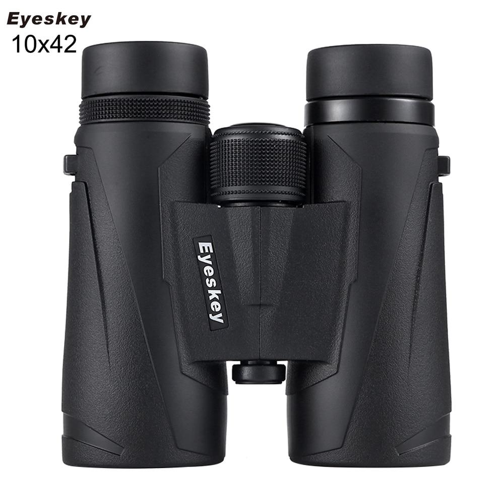Eyeskey HD BAK4 Optics 8x32/10X32/8X42/10X42 Zoom Waterproof Nitrogen Powerful Monocular Binocular Telescope for Hunting Outdoor недорого