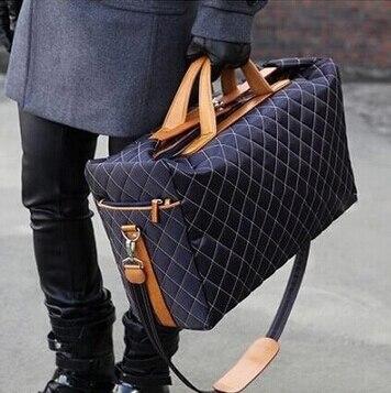 2018 Men Travel Bags Large Capacity Women Luggage Travel Duffle Bags Nylon Out Door Waterproof Bags Unisex Handbag Bolso Deporte-in Travel Bags from Luggage & Bags    1
