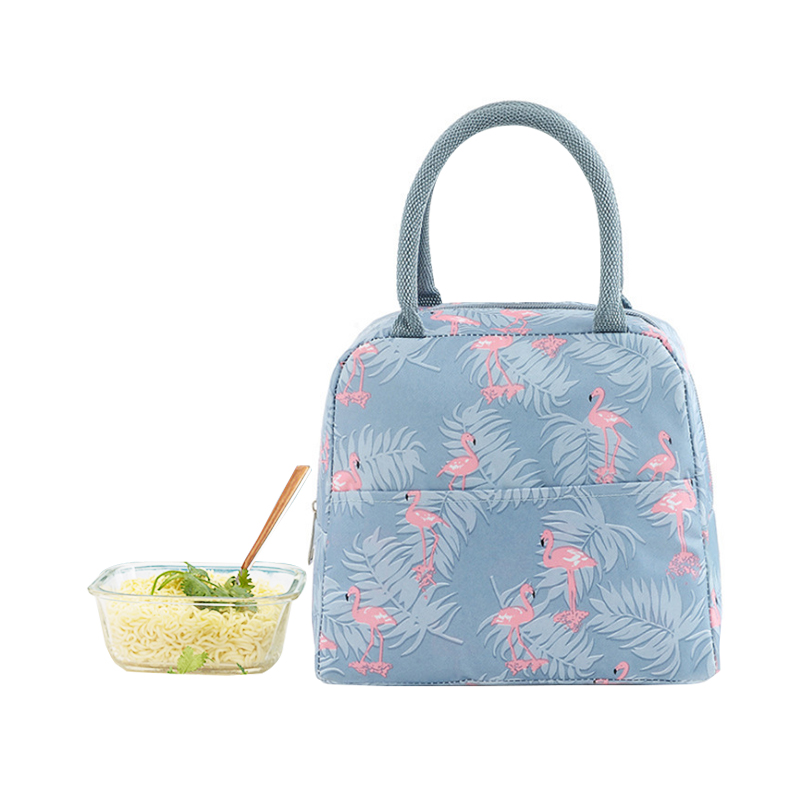 1fc3509ec9bc US $7.64 30% OFF|Portable Flamingo Lunch Bag Women Kids Insulated Thermal  Bento Case Travel Picnic Food Drink Fruit Snack Cooler Tote Accessories-in  ...