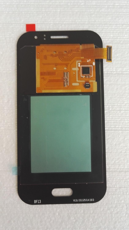 Prix pour Amoled Foncé Bleu/Or/Blanc Écran lcd + Écran Tactile Digitizer assemblée pour Samsung Galaxy J1 Ace SM-J110 J110F J110M J110H