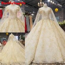 9221 High Collar Sleeveless Wedding Dresses 2018 Gowns