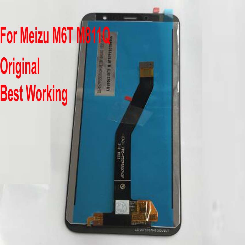 LTPro Original Test Well Touch Screen Digitizer LCD Display Assembly Sensor Glass Panel For <font><b>Meizu</b></font> <font><b>M6T</b></font> Meilan 6T M811Q <font><b>M811H</b></font> image