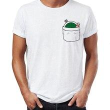 Men's T Shirt Bulmas Pocket Dragon Ball Radar Funny Anime Tee