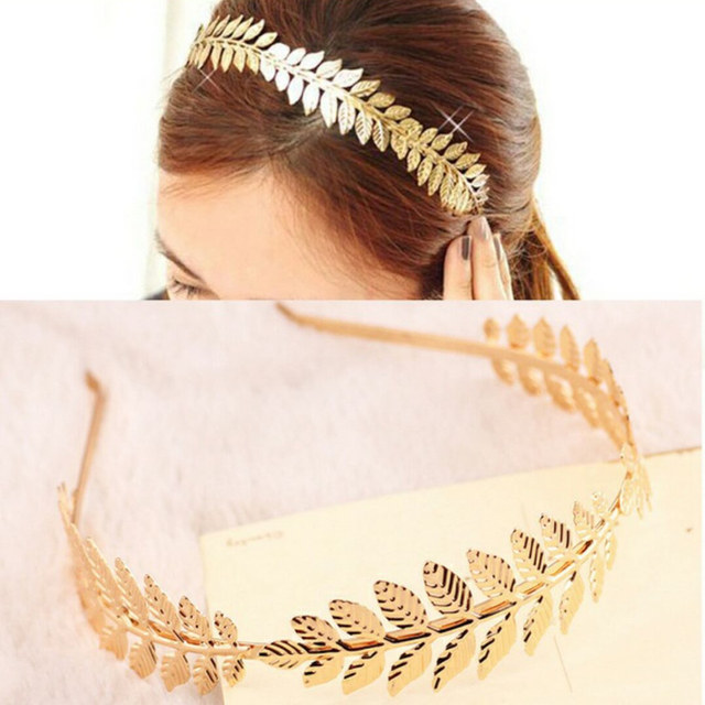 Laurel Leaf Branch Leaves Headband hairband hair head hoop band accessories  for women girl headwear Headdress Turban headwear e50c7dbe7355