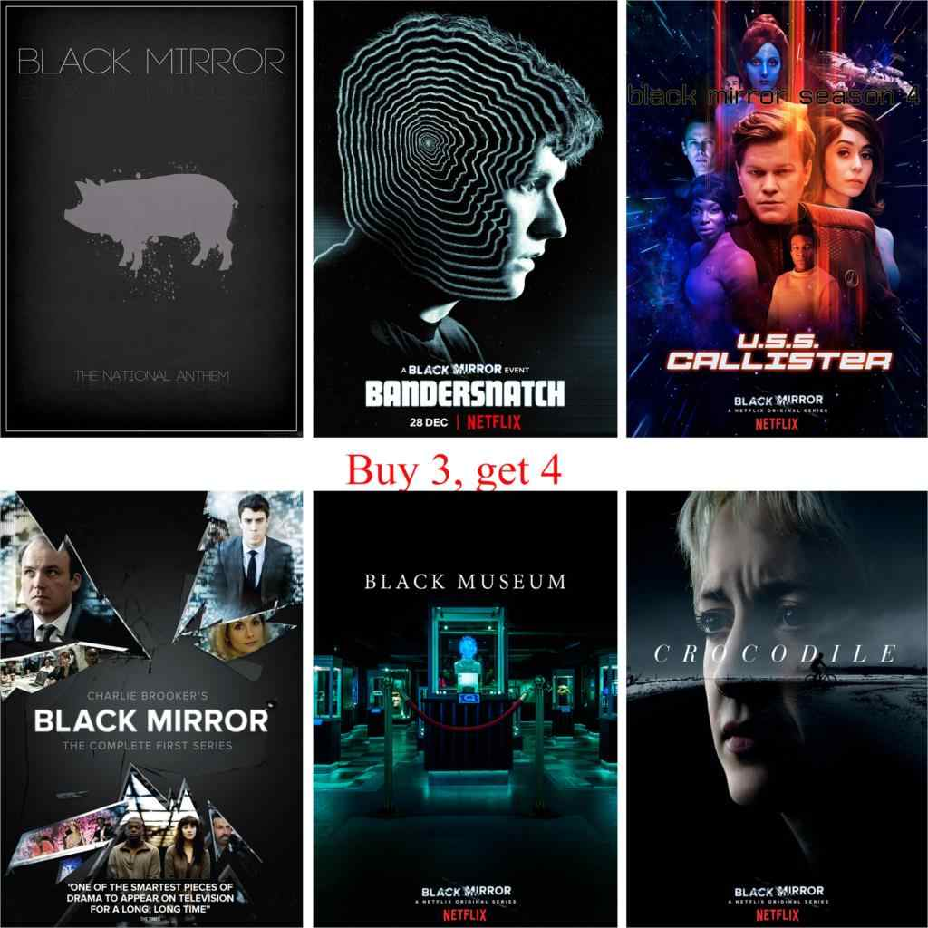 black mirror posters movie wall