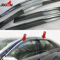 For Toyota Camry XV50 2012 2013 2014 2015 2016 Window Sun Rain Visors Vent Shade Deflector