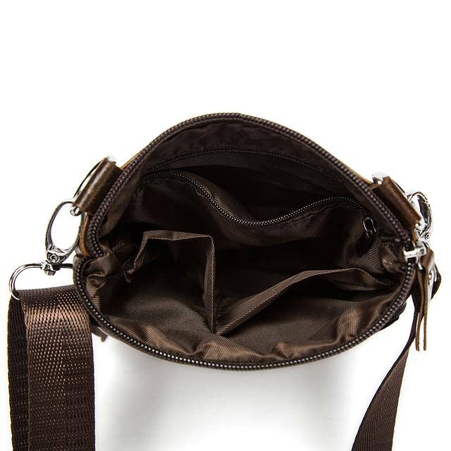 WESTAL Messenger Bag Mannen schoudertas Echt Leer Kleine mannelijke man Crossbody tassen voor Messenger mannen Lederen tassen Handtassen M701