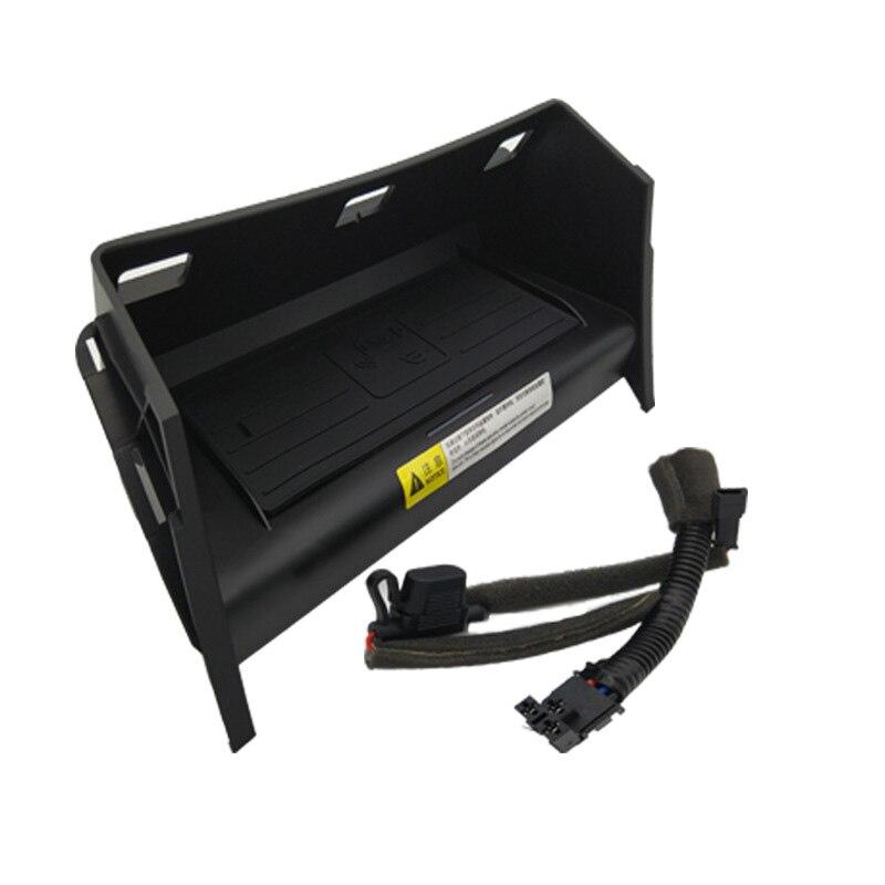 Chargeur de voiture Qi sans fil adaptateur de téléphone 10 W étui de charge rapide pour Mercedes Benz GLE classe Coupe W166 C292 GLS X166 GL ML - 3