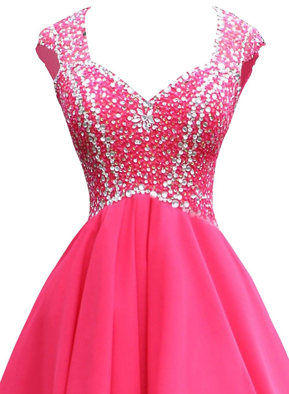 Popular Hot Pink Sequin Cocktail Dress-Buy Cheap Hot Pink Sequin ...