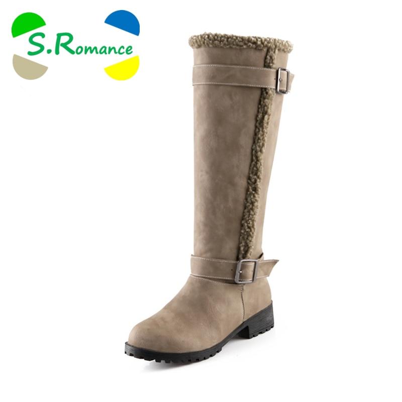 s plus size 34 43 boots fashion toe