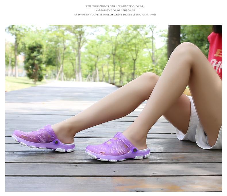 HTB1C98HPpzqK1RjSZFvq6AB7VXaF Women Sandals Summer Slippers 2019 New Women Outdoor Beach Casual Shoes Cheap Female Sandals Water Shoes Sandalia women