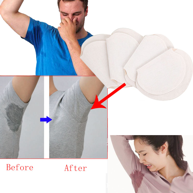 75Pcs 35pairs Armpit Sweat Pads Summer Disposable Underarm Absorbing Anti Perspiration Deodorant Unisex Shield Wholesale