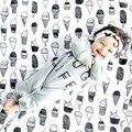 Новая Мода Новорожденный Мягкого Органического Хлопка Муслин Пеленать Полотенце Brethable многофункциональный Одеяла Младенческой Parisarc Размер 47x47in