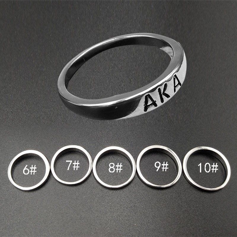 Jewelry & Accessories Generous Suteyi 2018 New Arrival Aka Ring Alpha Kap Alpha Sorority Fraternity Organization Love Symbol Ring For Women Gift Jewelry As Effectively As A Fairy Does
