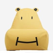 Casual small bean bag children cartoon cloth lazy sofa creative single cute tatami bed removable washable