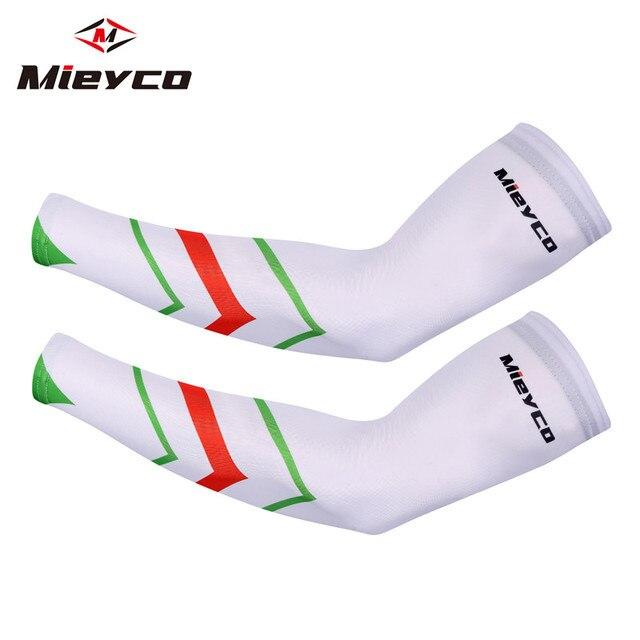 Mieyco braço manga de verão proteção solar esportes correndo ciclismo mangas bicicleta braço aquecedores mangas respiráveis para braço braços 5