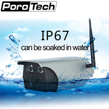 T7A 960P gun wireless camera waterproof can be soaked in water wifi connect H.264 video compression 32bit CMOS
