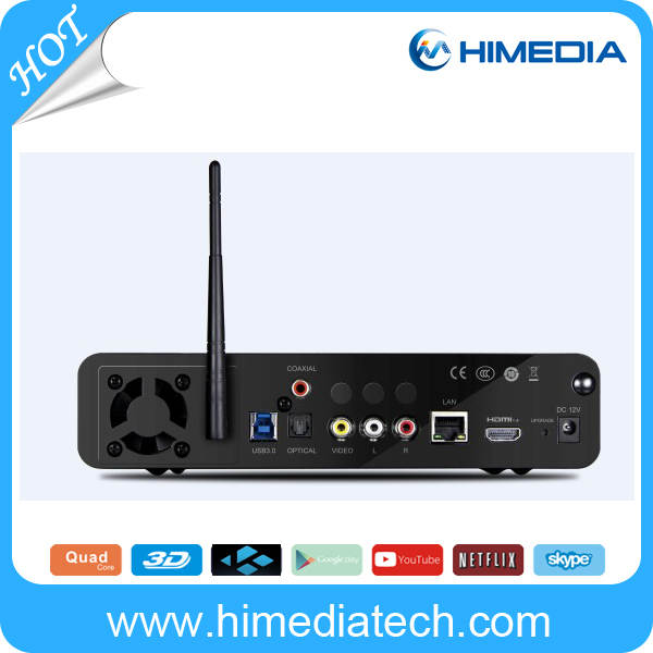 US $299 0 |OTA update online HiMedia Q10 PRO Quad core Android TV Box Kodi  16 0 IPTV box OTT streaming box-in Set-top Boxes from Consumer Electronics