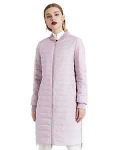 MIEGOFCE 2020 Новое Женское весеннее пальто с шарфом Женская куртка женская тонкая хлопковая одежда с воротником-стойкой дизайнерская Новая