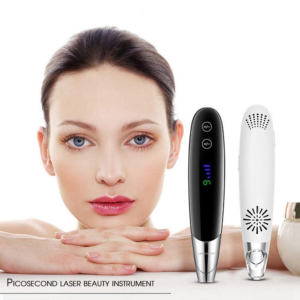 9 vitesse luminothérapie acné Laser stylo beauté soins de la peau du visage resserrement des pores rétrécissement anti-rides Instrument de beauté
