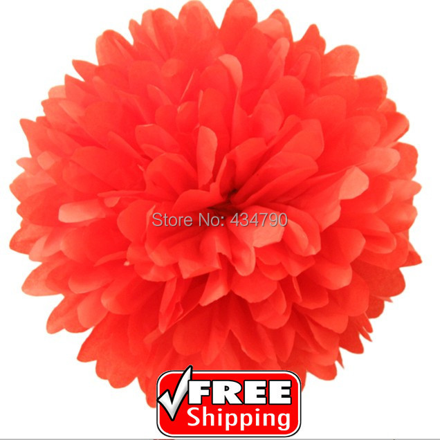 20pcs 820cm red tissue pom poms christmashanging party paper 20pcs 820cm red tissue pom poms christmashanging party paper flowers mightylinksfo