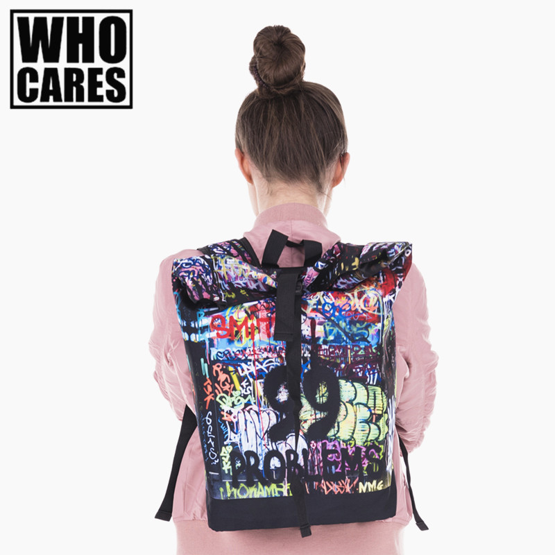 Drips 99 3D Printing courier backpack 2017 Fashion New Backpack travel bag women bolsa de viagem mens luggage bags sac a dos