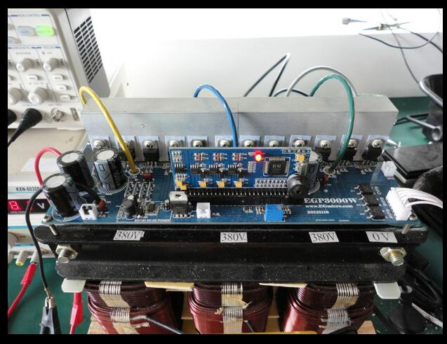 US $9 99 |1pcs EGP3000W three phase inverter Pure Sine Wave Power Board PCB  Empty board EG8030 for DIY-in Inverters & Converters from Home Improvement