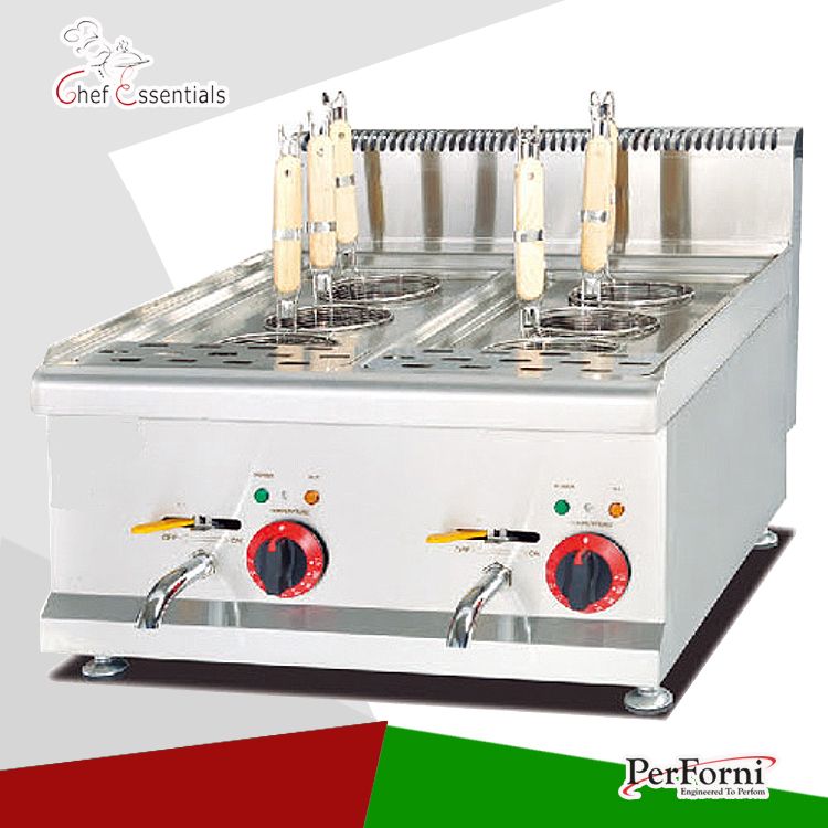 PKJG-EH688 Counter Top Electric Pasta Cooker with Cabinet/6 pan, for Commercial Kitchen набор для кухни pasta grande 1126804