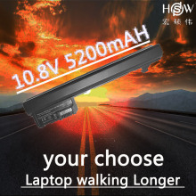 HSW 6cells Laptop Battery For HP Mini110-1000 110 FOR COMPAQ Mini 102 CQ10 530973-741 537626-001 NY220AA NY221AA bateria