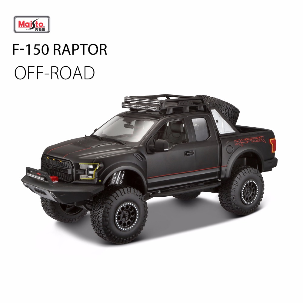 2017 New Maisto 1:24 F150 SVT Raptor Off-road Pickup Truck Simulation of Alloy Car Model