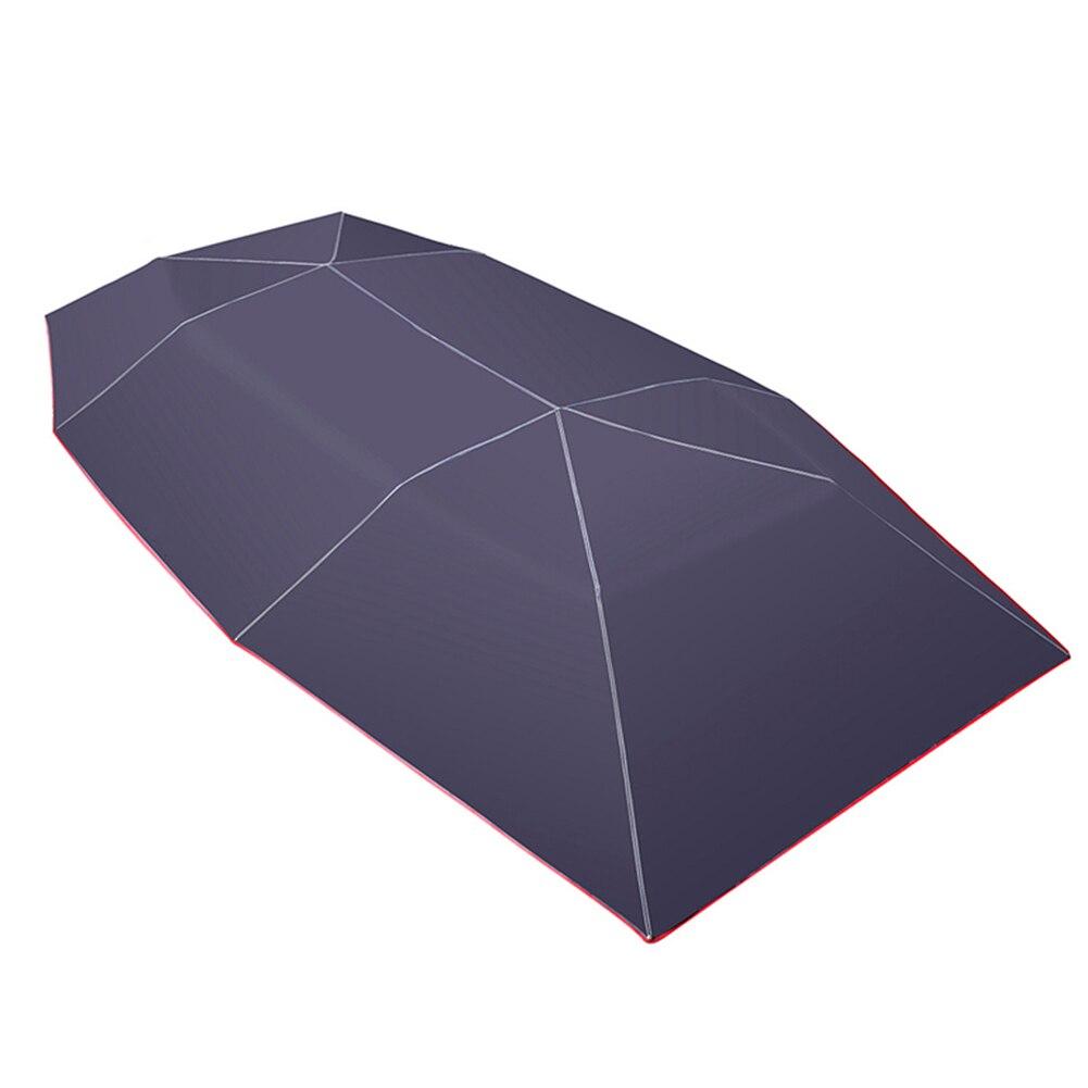 Voiture parapluie soleil ombre couverture tente tissu auvent Sunproof 400x210 cm pour extérieur M8617
