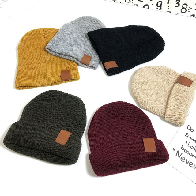 9b0422945aa71 1PC 2018 New Autumn Winter Hedging Beanie Hat For Women Elastic Crochet  Knitted Wool Skullies Hat
