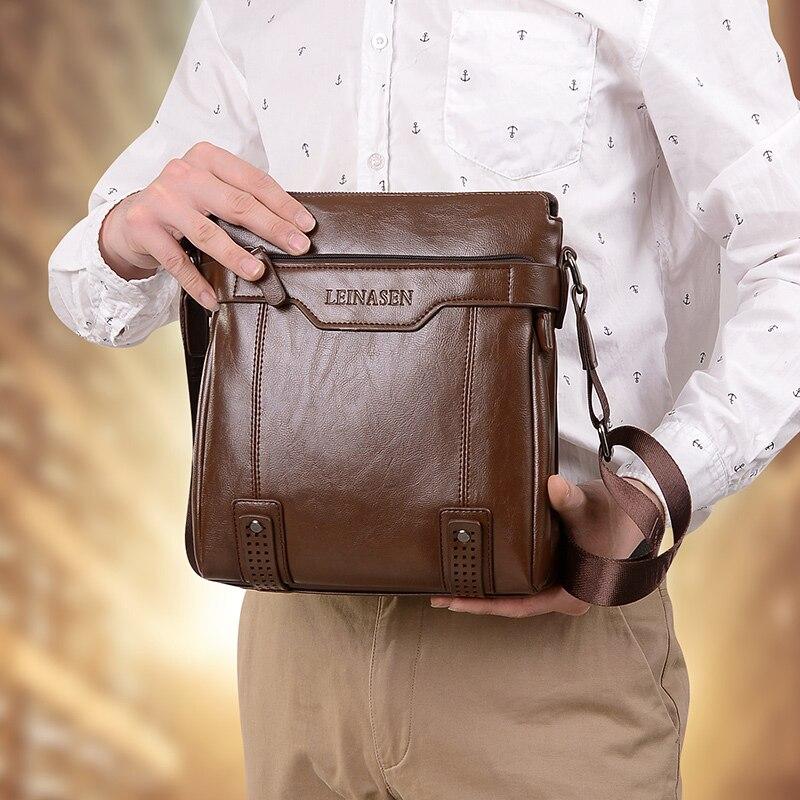 HTB1C9ARaUzrK1RjSspmq6AOdFXa1 men bag shoulder leather messenger bag men leather briefcase Antifreeze shoulder bags for men bussiness bag mens office bags