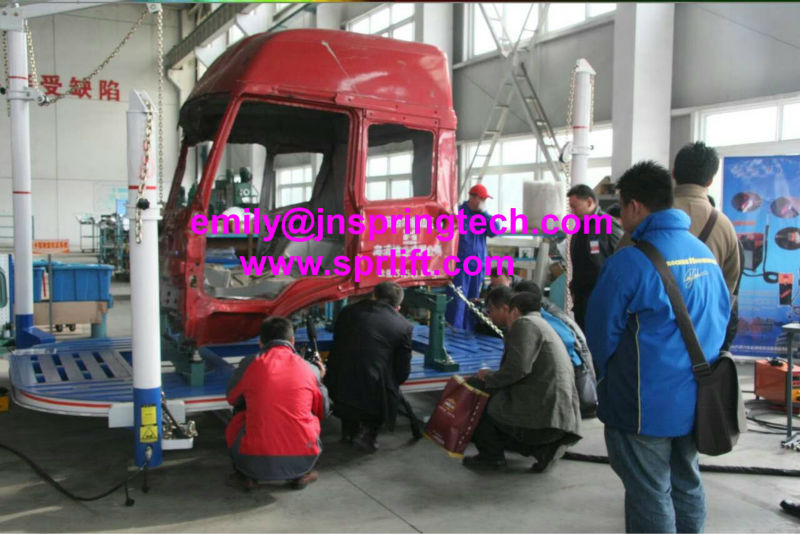 sp v8 car straightening frame machine/car body repair bench/car ...
