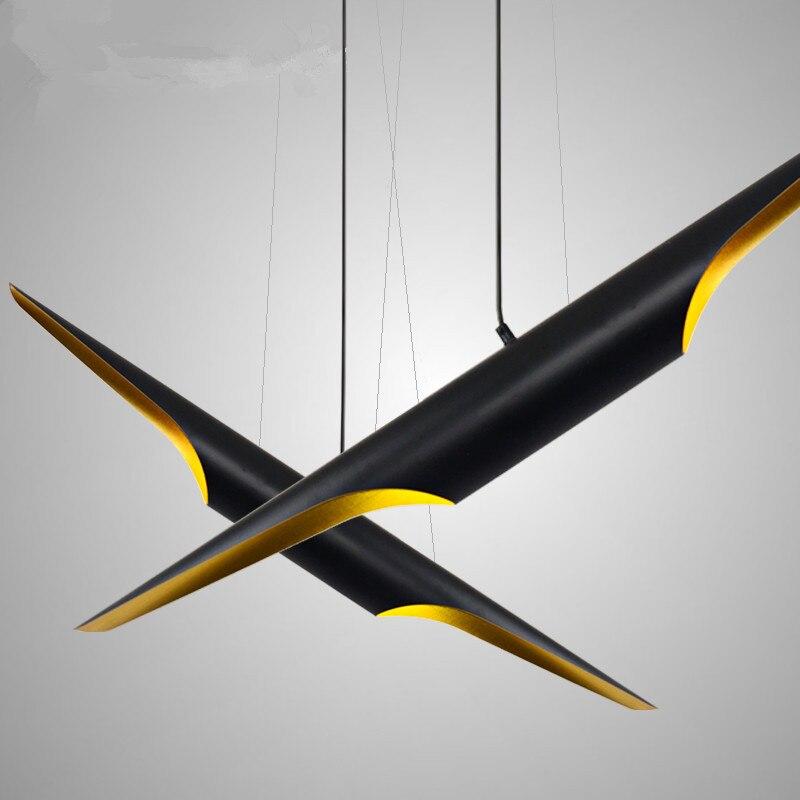 Nordique L80/100 cm Coltrane Alu. tube noir or suspension H75/95/115 cm noir or applique murale appliques suspension