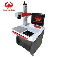 1064nm 30w fiber laser marker with Max pulsed fiber laser source 160*160mm working area for logo & serial number making
